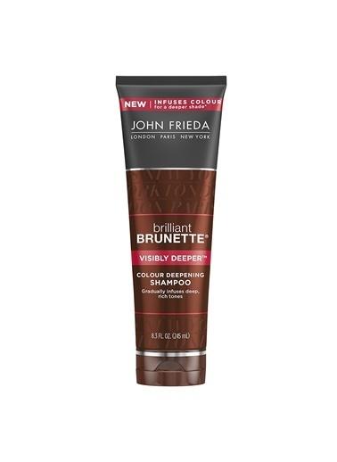 John Frieda Brillant Brunette Visibly Deeper Colour - Kahverengi Saçlar İçin Bakım Şampuanı 250 Ml Renksiz